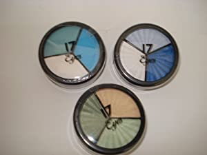 3 x Boots No 17 Trio Eye Shadow Moody Blues + Mermaid's Tale + Forest Green by Boots No 17