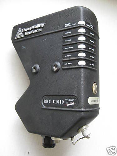 Traceability Systems Bbc F1010 Bumpy Bar Code Scanner Serial 10F-0055