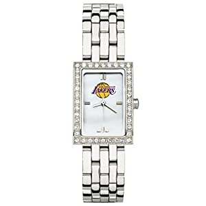 CZNSW22310Q-w-Los Angeles Lakers Watch - Stainless Steel & Cz by NBA Officially Licensed