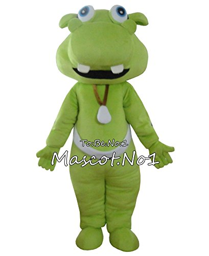 [DanFeng Hippo Mascot Costume Fancy Dress Christmas Halloween Cosplay Printable LOGO ...] (Hippo Mascot Costumes)
