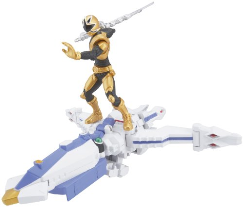 Power Ranger Zord Vehicle w/Figure, OctoZord with Gold Ranger (Golden Power Ranger compare prices)
