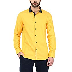 F Factor by Pantaloons Casual Shirt_Yellow_44