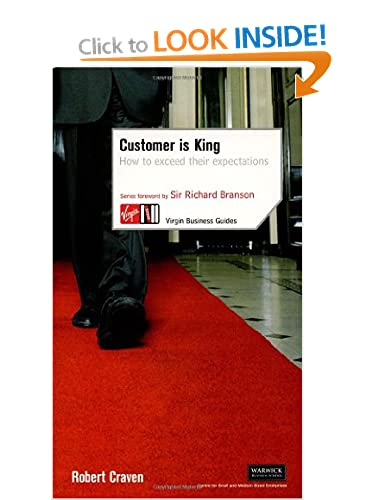 Customer is King book