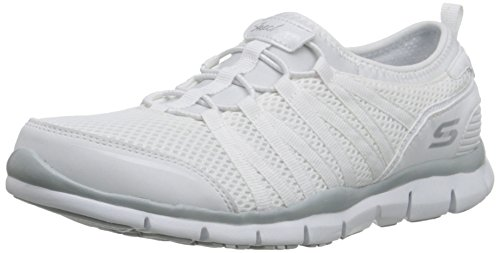 Skechers Sport Women's Gratis Fashion Sneaker, White, 11 M U