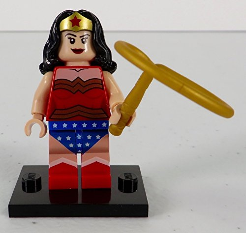[Lego 6862 Wonder Woman Classic Costume Figure Brand New Minifigure] (Deathstroke Costume Party City)