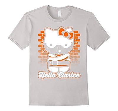 Hello Clarice Funny Novelty Shirt Horror Movie Lovers Humor