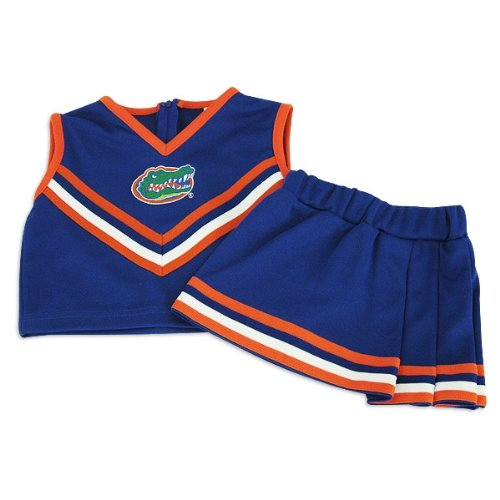 Florida Gators Little King Girls Two Piece Cheerleader Set:8 at Amazon.com