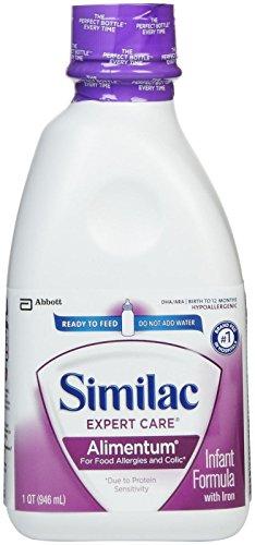 Similac Expert Care Alimentum Baby Formula - Ready To Feed - 32 Oz - 6 Pk