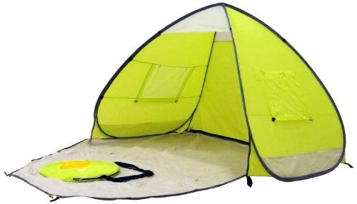 Genji Sports Speedway Instant Beach Tent and Changing Room, Apple Green