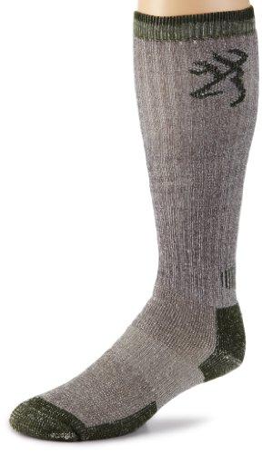 Big Save! Browning Hosiery Men's Tall Merino Wool Boot Sock, 2 Pair Pack