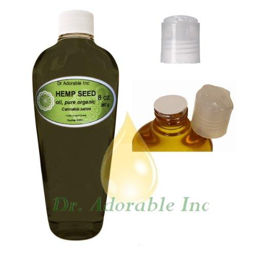 Hemp Seed Oil A Level Of Beauty & Health 8 Oz