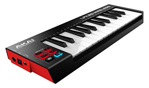 Akai-Pro-LPK25-Wireless-Teclado-USB-MIDI-porttil-con-25-teclas-sensibles-a-la-velocidad-conexin-Bluetooth-sin-cables-compatible-con-DAW-y-aplicaciones-iOS-Mac-y-PC