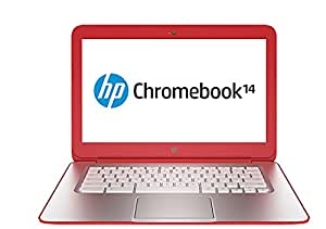 "HP Chromebook 14-q002ef 14"" Rouge (Intel Celeron, Chrome OS, 4 Go de RAM, disque dur 16 Go)"