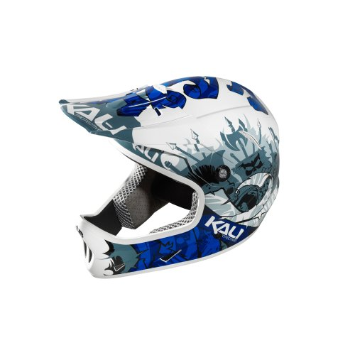 Buy Low Price Kali Protectives Avatar Full-Face FR/DH Bike Helmet Oslo Blue Small (B0087HT8XI)