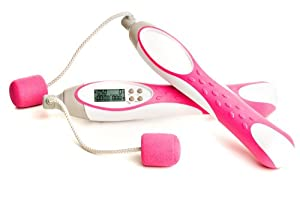 Pink Digital Cordless Jumping Rope