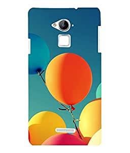printtech Carnival Balloon Back Case Cover for Coolpad Note 3 Lite Dual SIM with dual-SIM card slots