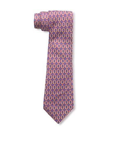 Hermès Men's Pre-Owned Paisley Silk Tie, Red