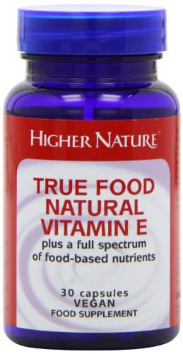 Higher Nature True Food Vitamin E (200iu) Pack of 30