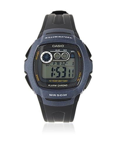 Casio Reloj con movimiento cuarzo japonés Unisex W-210-1B 15.0 mm