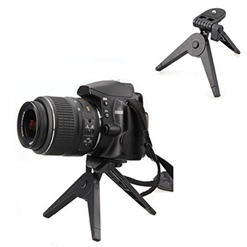Etopsell Mini Folding Tripod Camera Stand Portable Plastic Table Top Stand Holder (Foldable Camera Tabletop compare prices)