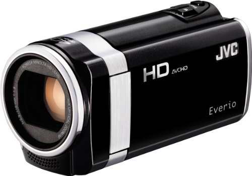 JVC GZ-HM650BEU Full HD Camcorder (SD/SDHC/SDXC Kartenslot, 8 GB interner Speicher, 40-fach optischer Zoom, 6,9 cm (2,7 Zoll) Display)