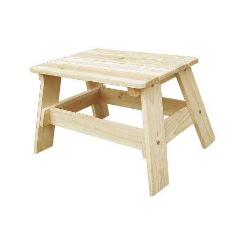 Lohasrus Kids End Table, Natural
