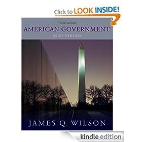 American Government: Brief Version - James Q. Wilson