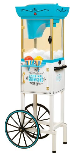 Cheapest Prices! Nostalgia Electrics SCC399 Vintage Collection Snow Cone Cart