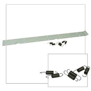 Cross Conveyor Pozi-Plate (with 6 springs)