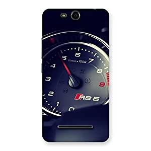 Speedo Meter Multicolor Back Case Cover for Micromax Canvas Juice 3 Q392