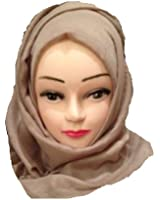 CK COLLECTION Plain Scarf Hijab Maxi Scarf Sarong Big Large Oversize Plain Colours Viscose
