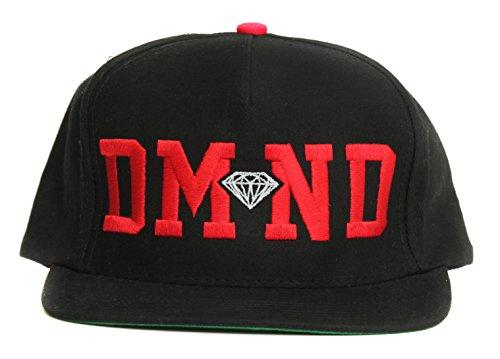 Diamond Supply Co. Men's DMND Snapback Hat-Black (Dmnd Supply Co Clothing compare prices)