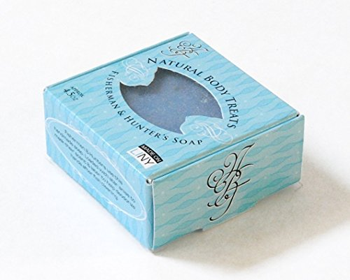 All Natural Fisherman and Hunter's Bar Soap - Vegan Friendly, Handmade, Cruelty Free