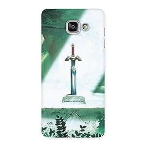 Special Sword Grave Multicolor Back Case Cover for Galaxy A7 2016