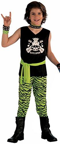 Forum Novelties Rock Star Dude Child Costume, Medium