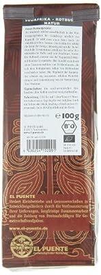 El Puente Rotbuschtee aus Südafrika, 1er Pack (1 x 500 g Packung) von El Puente bei Gewürze Shop