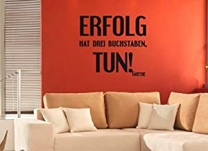wandtattoo erfolg hat drei buchstaben tun. Black Bedroom Furniture Sets. Home Design Ideas