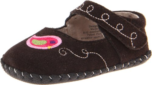 Pediped Originals Charlotte Mary Jane (Infant/Toddler),Chocolate Brown,Medium (12-18 Months) E Us Toddler front-1011151