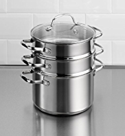 3-Tier Stainless Steel Steamer