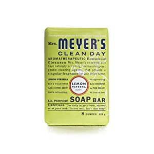 Mrs. Meyer's Bar Soap - Lemon Verbena - 8 oz