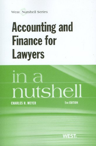 Accounting and Finance for Lawyers in a Nutshell, 5th image