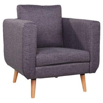 Leader Lifestyle Billy Armchair, Grey