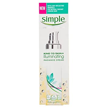 Simple Kind to Skin+ Illuminating Radiance Cream, 50ml