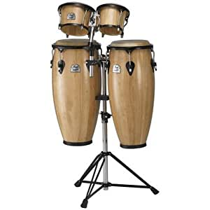 pearl primero series conga package with free bongos musical instruments. Black Bedroom Furniture Sets. Home Design Ideas
