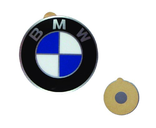 BMW Genuine Wheel Center Cap Emblems Decals Stickers 64.5mm (BMW)