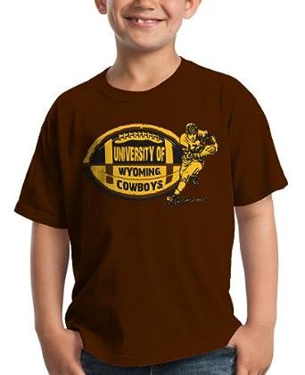 Buy NCAA Wyoming Cowboys Boys' Jack's Back Crew Tee Shirt by My U