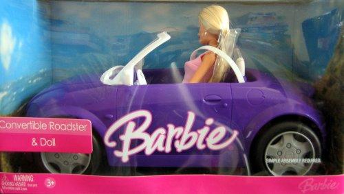 Barbie Convertible Roadster & Doll - Buy Barbie Convertible Roadster & Doll - Purchase Barbie Convertible Roadster & Doll (Mattel, Toys & Games,Categories,Dolls,Fashion Dolls)