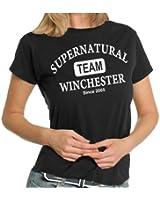 Supernatural - Team Winchester LADIES T-Shirt XS - XXL div. Farben