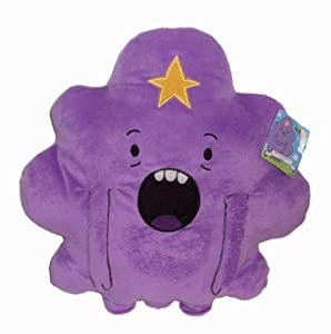 """Jazwares Adventure Time Lumpy Space Princess Cuddle 13"""" Plush Pillow by Jazwares"""