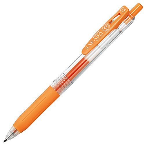 Zebra Sarasa JJ15 0.5mm Gel Ink Pen - Orange